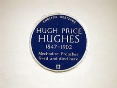 Photo of Hugh Price Hughes blue plaque