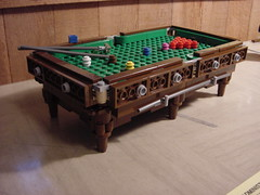 Snooker table (lego_mancer) Tags: pool table lego billiards snooker moc