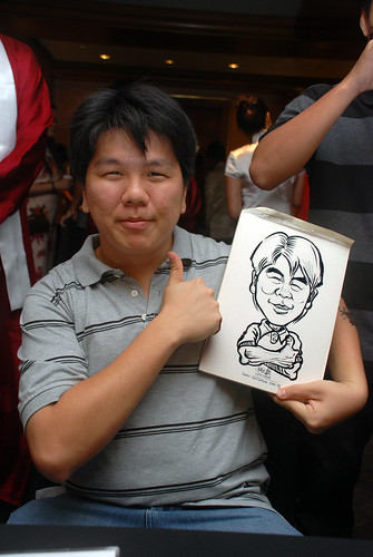 Caricature live sketching for Nera Telecommunications Ltd - 8