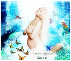 Christina Aguilera - Desire (BETHGON blends) Tags: christina desire xtina aguilera blend bethgon