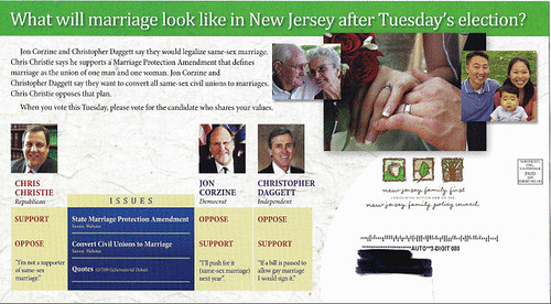 #2 side anti-gay Christie mailer
