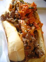 Kimchi Bulgogi Hotdog