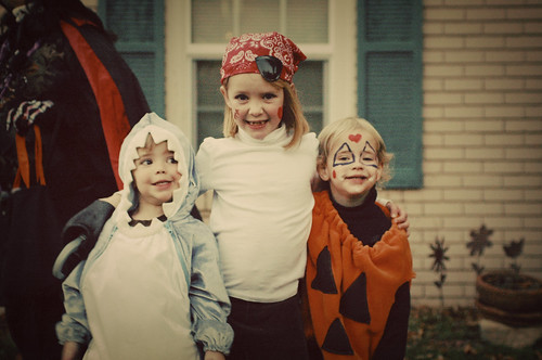 Shark, Pirate & Pumpkin