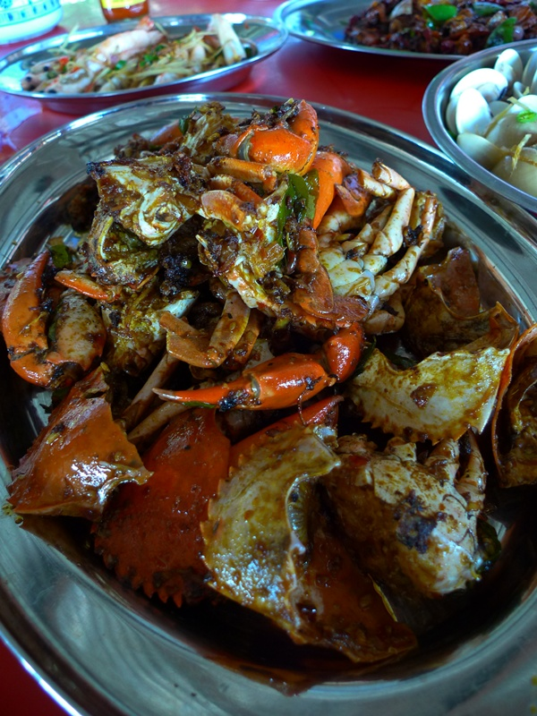 Kam Heong Mud Crabs