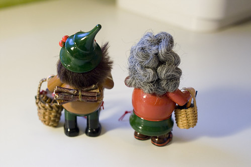 German Christmas Ornaments - back side