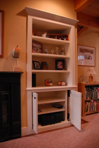 Concealed Hideaway Cabinet Doors Ana White Woodworking