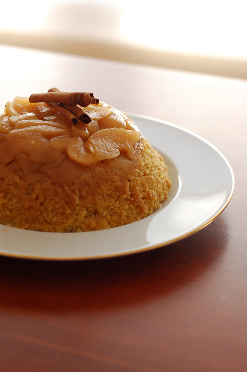 Apple Cinnamon Steamed Pudding