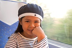On the train to Nevers