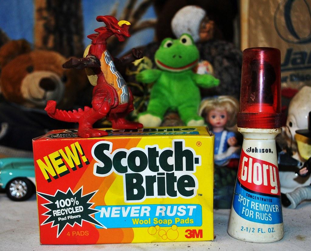 Scotch Brite & Glory Spot Remover