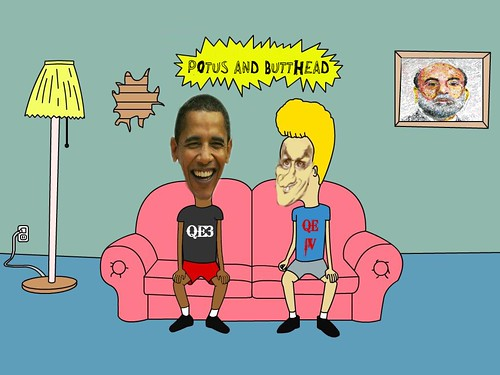 POTUS AND BUTTHEAD