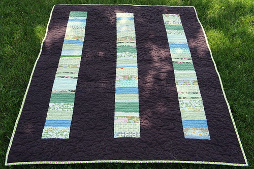 Stacked Coin Baby Quilt!
