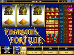 pharaohs fortune online review