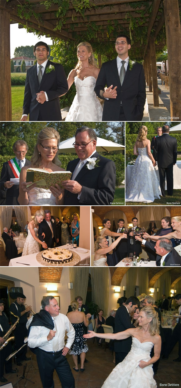ITALIAN THEMED WEDDING