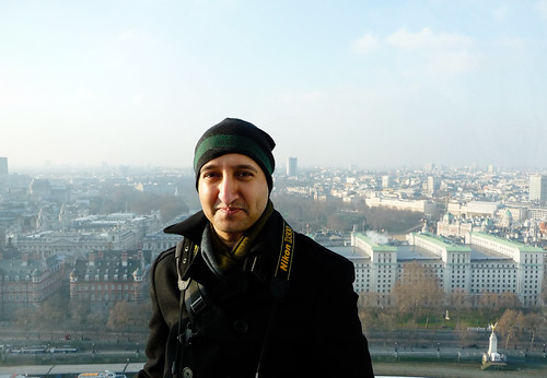 Shakeel at The London Eye