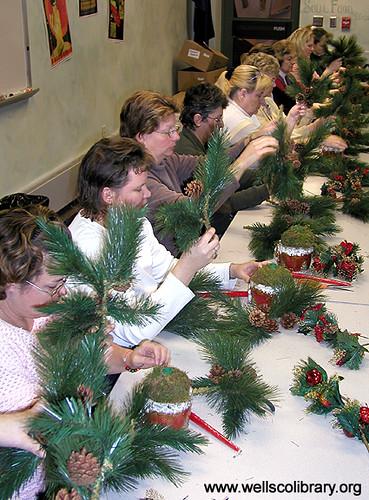 Christmas Centerpiece Class