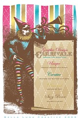 Carnivale (Bella Luna Creative) Tags: print advertising logo design graphics jester designer buttons clown ad businesscards designs banners logos printmedia computergraphics logodesign jpegs