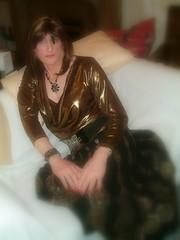 DSCF0602-1 (Julie Bracken) Tags: old red portrait fashion hair tv cd mini skirt crossdressing tgirl transgender mature tranny transvestite crossdresser crossdress kinky tg trannie mtf m2f feminized enfemme xdresser tgurl feminised transsister julieb85