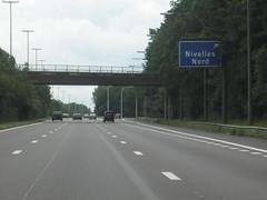 foto 04 (European Roads) Tags: brussels france highway belgium bruxelles autobahn autopista freeway autoroute brussel mons e19 autosnelweg