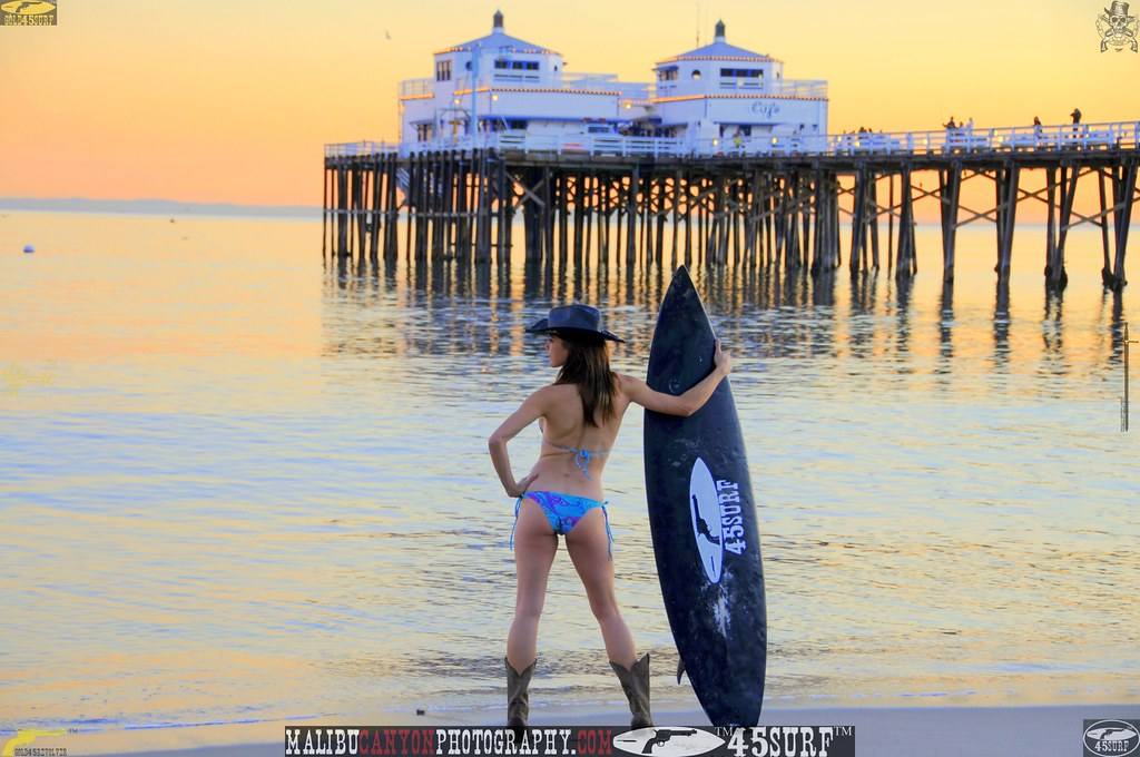 malibu pier 45surf bikini swimsuit model  873.345.345