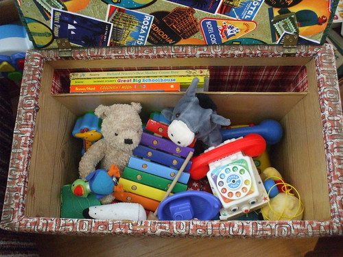 toy box in action