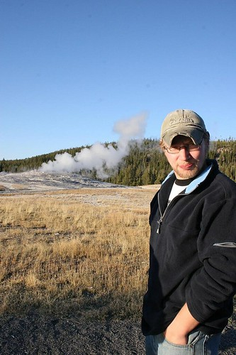 Micah & Old Faithful