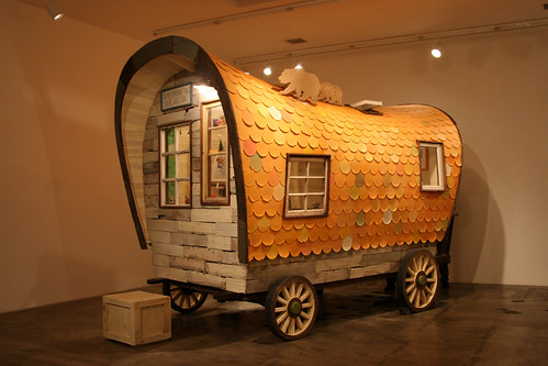 Yoshitomo Nara - Covered Wagon - Blum & Poe