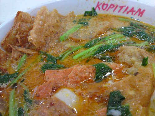 Curry yong tau foo