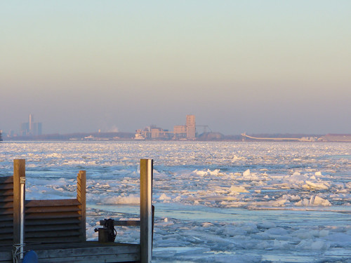 Detroit River Ice, Pier 500