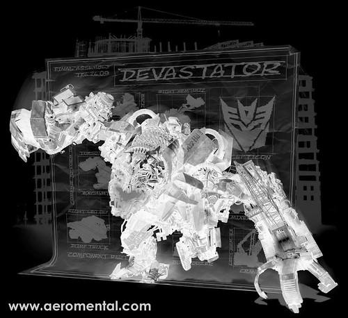 Thumb Análisis de los 7 Constructicons que forman a Devastator