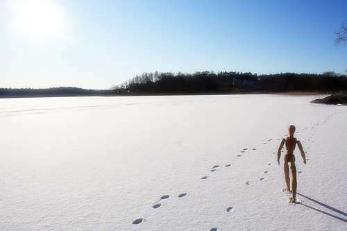 Promenad på Stensjön