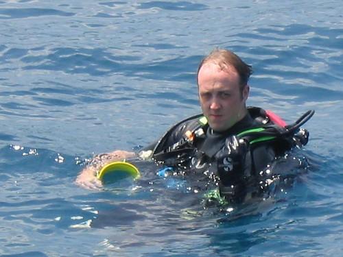 Diving October 2005