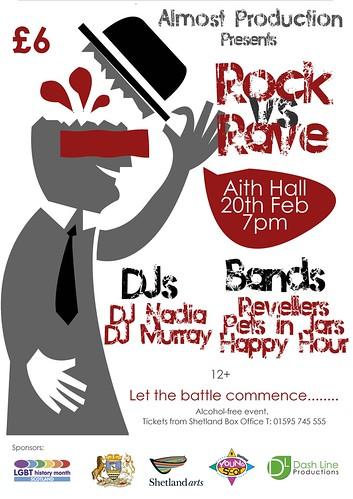 Pock vs Rave poster