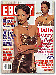 Halle Berry as Dorothy Dandridge by daddyprincess13