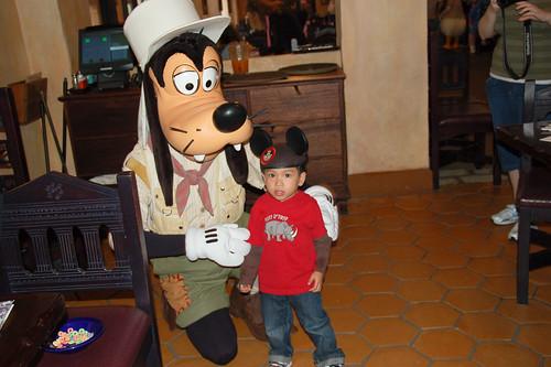 With Goofy