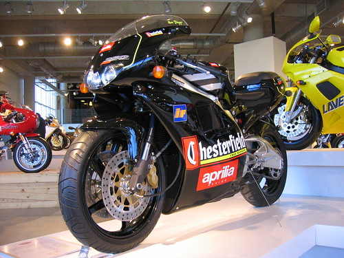 Aprilia RS250 Chesterfield 2 stroke