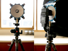 sunpak 120j with soft box