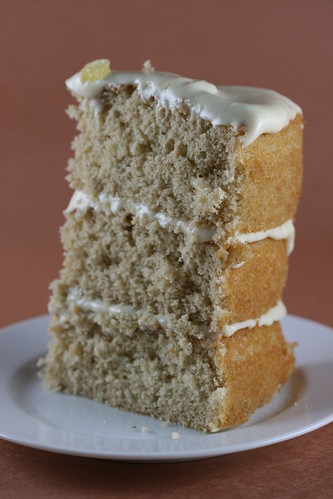 Food Librarian - Chai Cake with Honey Ginger Frosting