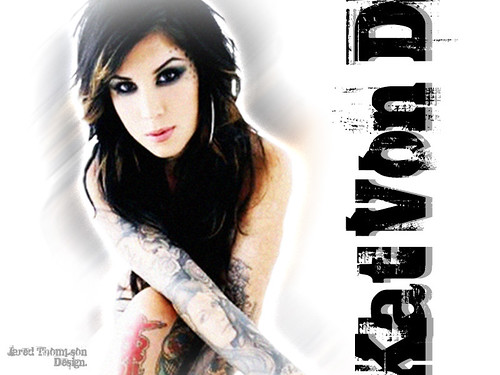 kat von D wallpaper design 2