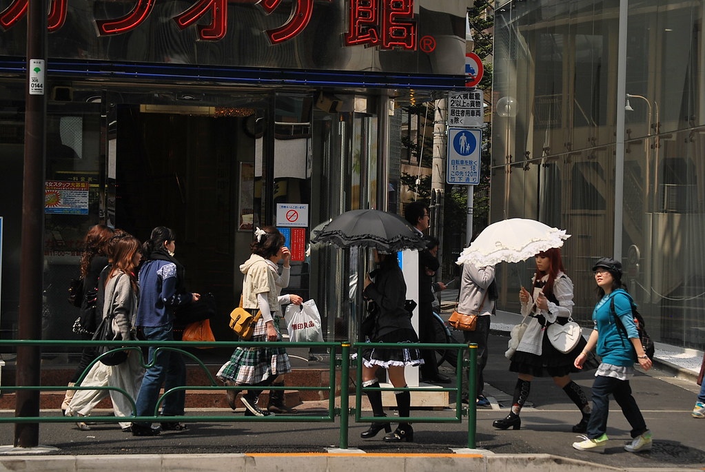 Gothic Lolita en Harajuku