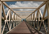 The Whitney Bridge (zpgoodell) Tags: bridge minnesota skyline clouds nikon exposure downtown cloudy minneapolis symmetry walker walkway d200 twincities sculpturegarden mn loringpark whitneybridge