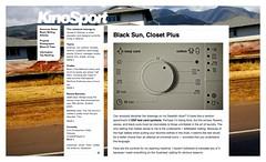 KinoSport | Black Sun, Closet Plus_1247225138902