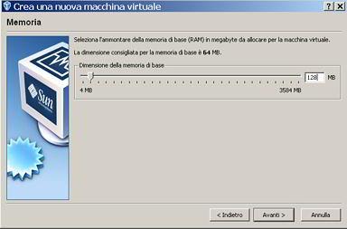 Windows 98 su VirtualBox – valent