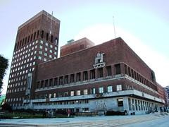 Radhus, City Hall, Oslo, Norway (Snuffy) Tags: oslo norway cityhall radhus