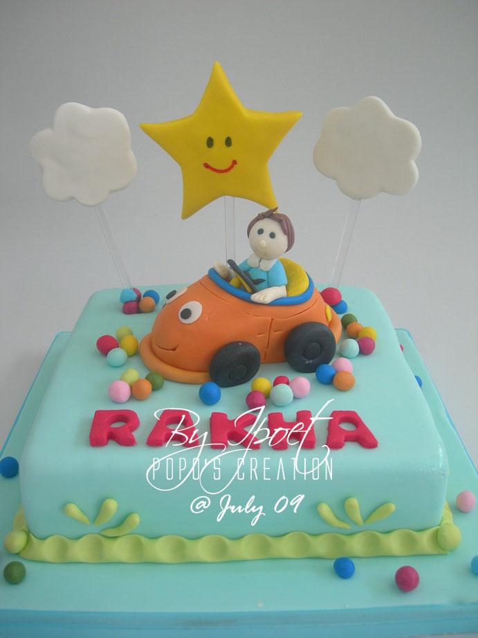 Boy Cake for Rakha