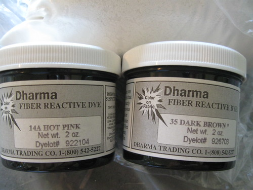 fiber reactive dyes from Dharma Trading