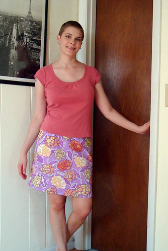 Sew U Urban Garden skirt 2