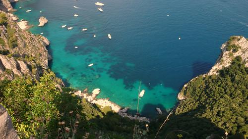 Acantilados en Capri