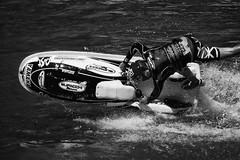 Jet Ski @ Lastra a Signa (toposkevich) Tags: white black ski water lumix jet panasonic e moto 28 acqua bianco nero fz bianconero dmc acrobatic signa renai lastra bwdreams acrobazie