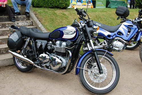 British Classic motorcycle Triumph Bonneville 790 photo