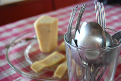 Cheese and Utensils
